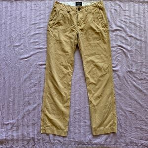 American Eagle Outfitters Tan Straight Pants 32/34
